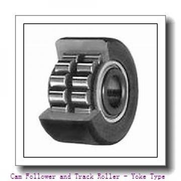 15 mm x 42 mm x 19 mm  SKF NUTR 1542 X  Cam Follower and Track Roller - Yoke Type