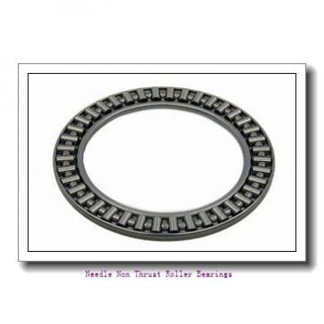 1.313 Inch | 33.35 Millimeter x 1.625 Inch | 41.275 Millimeter x 0.625 Inch | 15.875 Millimeter  KOYO B-2110  Needle Non Thrust Roller Bearings