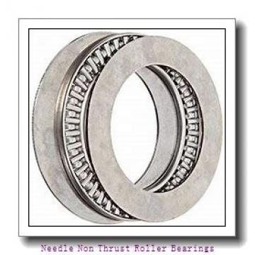 1.25 Inch   31.75 Millimeter x 1.5 Inch   38.1 Millimeter x 1.015 Inch   25.781 Millimeter  KOYO IR-2016  Needle Non Thrust Roller Bearings
