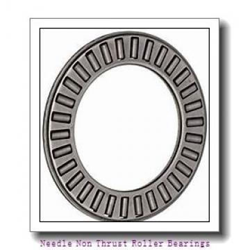 0.472 Inch | 12 Millimeter x 0.669 Inch | 17 Millimeter x 1.004 Inch | 25.5 Millimeter  IKO IRT1225-2  Needle Non Thrust Roller Bearings