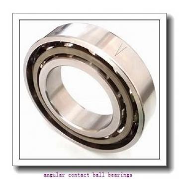 0.669 Inch | 17 Millimeter x 1.575 Inch | 40 Millimeter x 0.472 Inch | 12 Millimeter  SKF 7203DU  Angular Contact Ball Bearings